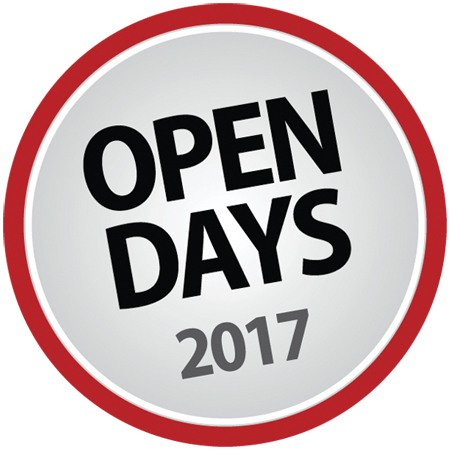 Registration form – Open Days events